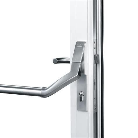 panic hardware for glass doors dorma pha 2500 panic hardware fittings for narrow stile doors