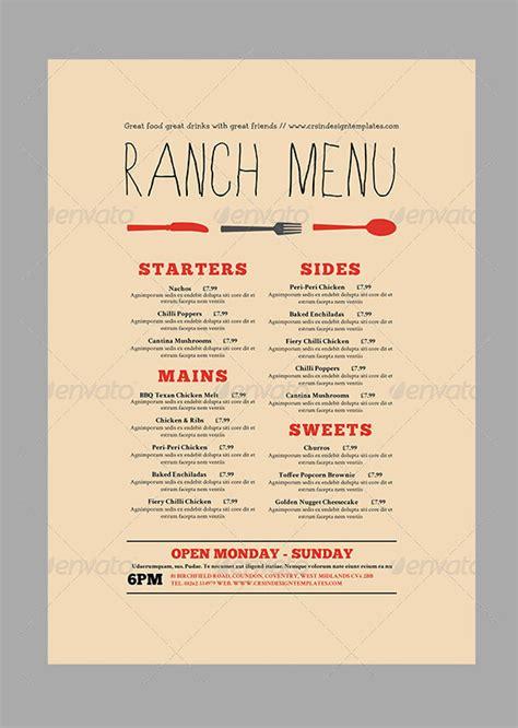 how to make menu card for restaurant 36 menu card templates free sle exle format