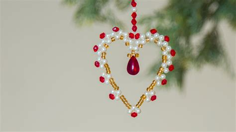 how to make beaded ornaments diy beaded ornaments