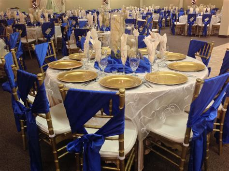 blue and gold decorations image royal blue and gold decorations