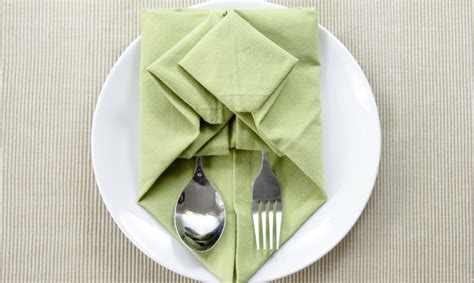 origami with napkins napkin origami 101 for your next dinner
