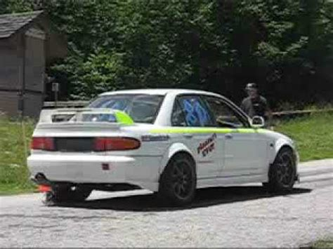 Mitsubishi Evo 2 by Lancer Evo 2 Idle Then Uphill Launch