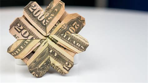 money origami tutorial money gift idea cloverleaf dollar bill origami tutorial
