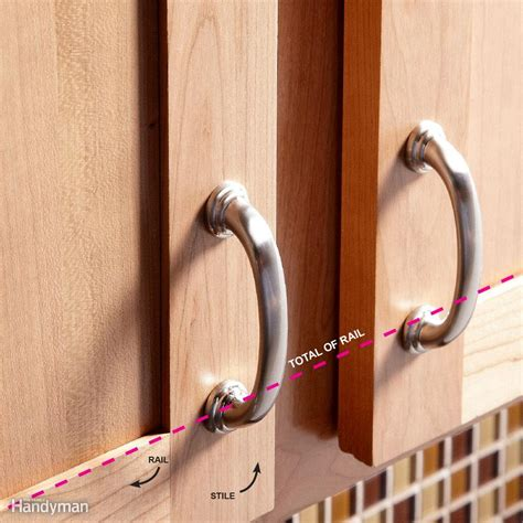 installing kitchen cabinet hardware how to install cabinet hardware the family handyman