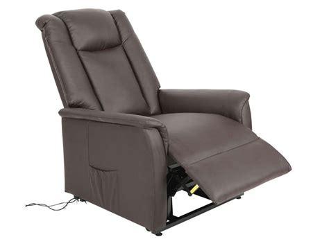 fauteuil de relaxation et releveur 233 lectrique max en pu coloris chocolat vente de tous les