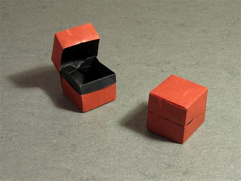 origami box and lid box and lid dave brill happy folding