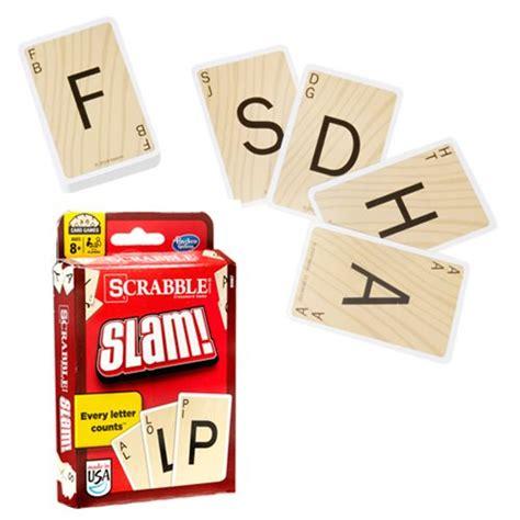 scrabble slam scrabble slam card hasbro scrabble