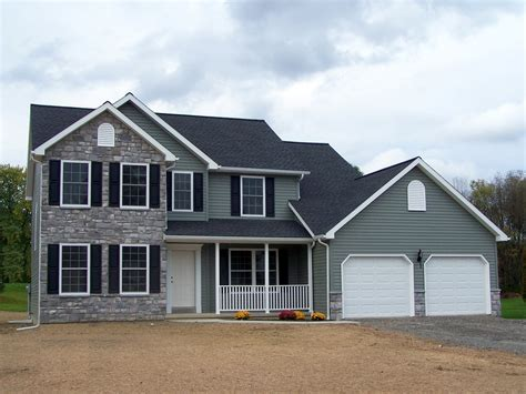 two story home central pa and southern new york two story home plan