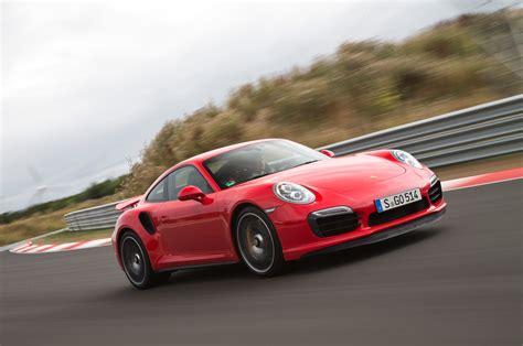 2014 Porsche Turbo by 2014 Porsche 911 Turbo Front Three Quarter In Motion 04