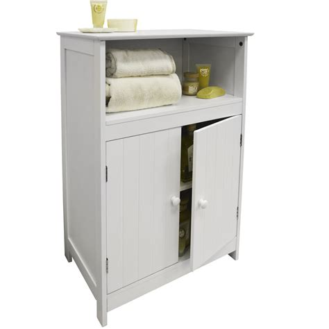 White Tongue And Groove Bathroom Cabinet by Waltham Shaker Tongue And Groove Bathroom 2 Door Storage