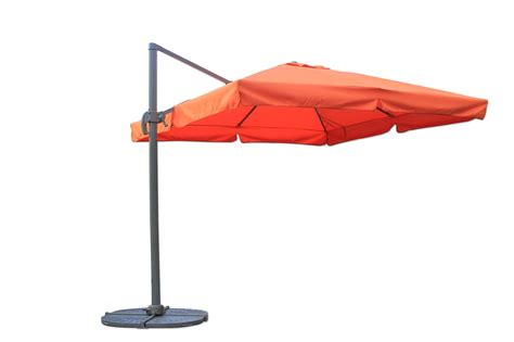 patio offset umbrella kontiki shade cooling offset patio umbrellas 10 ft