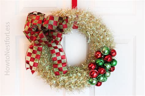 jingle bell wreath jingle bells wreath how to nest for less