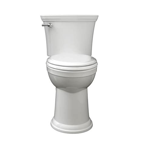 shop american standard esteem vormax 1 28 gpf 4 85 lpf white watersense elongated chair height