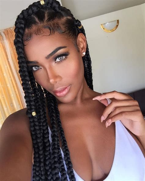 braids with hairstyles jumbo box braids amazing term protective style