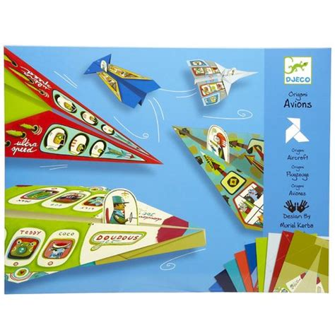 craft kits for australia djeco planes origami paper craft kit for djeco toys