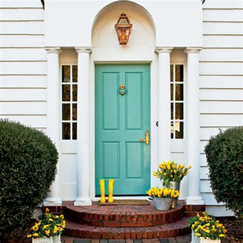 paint color for front door make a dramatic impression 15 painted front doors