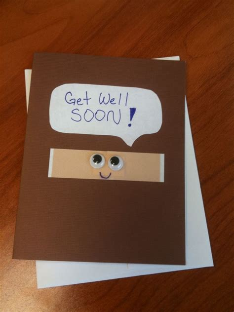 how to make a get well soon card i this idea also great to make for your when