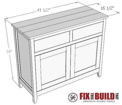 sideboard woodworking plans diy sideboard cabinet part 2 fixthisbuildthat