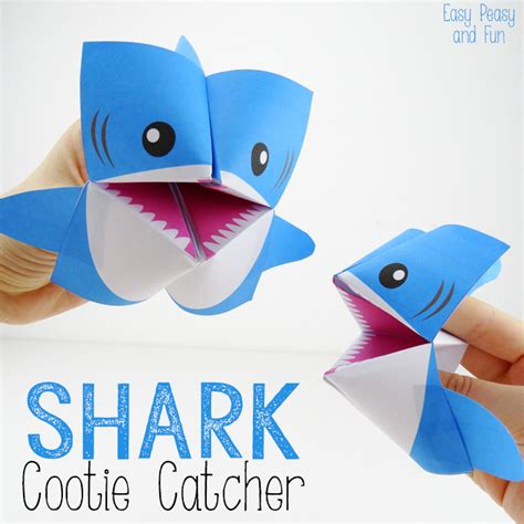 easy shark crafts for the crafted collective 60 paper crafts catcher