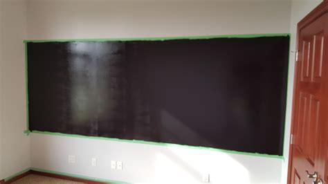 chalkboard paint on drywall chalk wall paint abram s interior painting