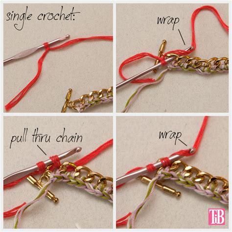 how to make crochet jewelry with diy crochet beaded bracelet
