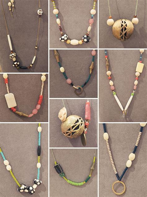 diy beaded necklace diy bead necklace www pixshark images galleries