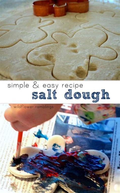 salt dough crafts for best salt dough recipe wildflower ramblings