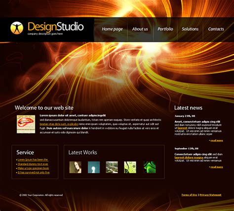 free homepage for website design 4191 web design consulting website templates