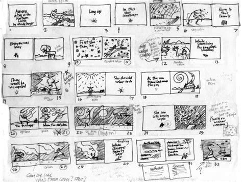 picture book storyboard storyboarding mindydwyer