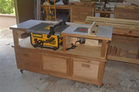 woodworking table saws table saw router cabinet finewoodworking