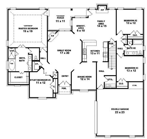 4 bedroom house floor plans 2 story 4 bedroom house floor plans fresh two story 4 bedroom 3 bath country style house