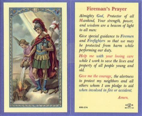 where can i buy prayer fireman s prayer holy card