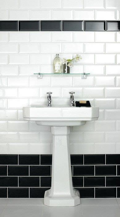 Black And White Bathroom Tile Ideas by 25 Best Ideas About Black And White Tiles On
