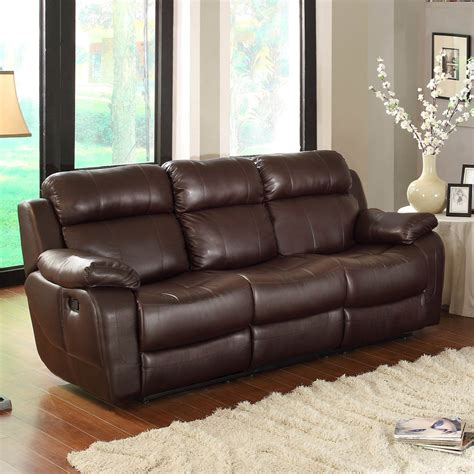 reclining living room set homelegance marille 2 reclining living room set in