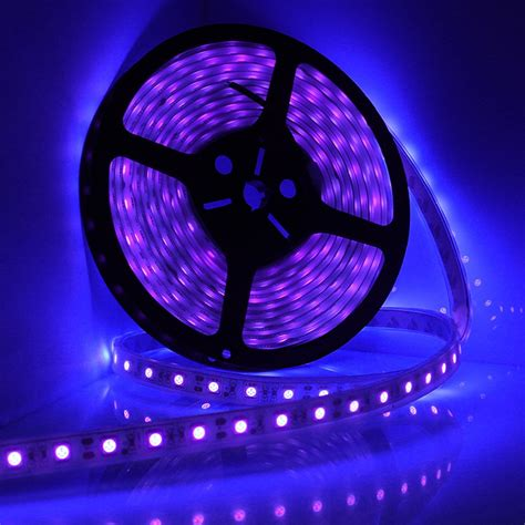 black light led 5m 16ft led waterproof ultraviolet purple black light