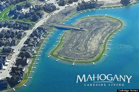 Small Lakefront House Plans there s going to be a gated man made private island for