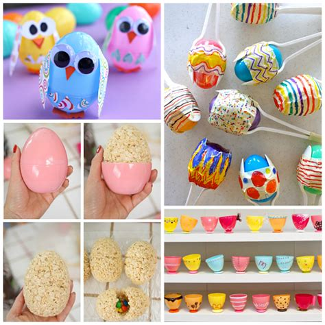 how to make and craft things for creative things to make out of plastic easter eggs