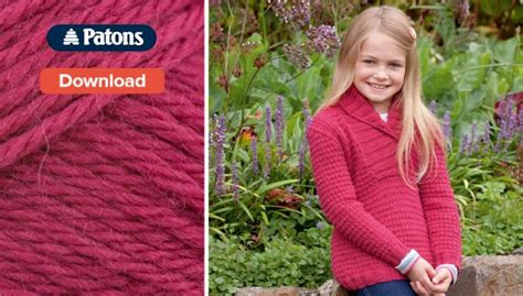 free childrens jumper knitting patterns free patons children s knitting pattern loveknitting