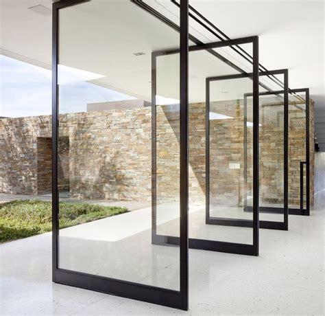 modern exterior sliding doors best 25 pivot doors ideas on glass door