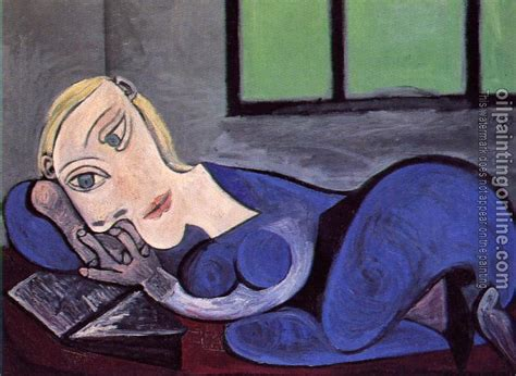 picasso paintings reading picasso pablo reclining reading canvas painting