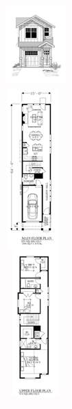house floor plans for narrow lots best 25 narrow house plans ideas on