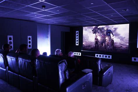 Apartment Setup Ideas distributor awe unveils dolby atmos cinema room installation