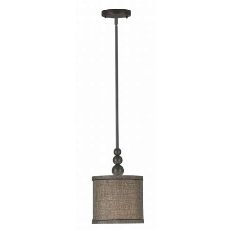 home depot pendant lights kenroy home margot 1 light rubbed bronze mini pendant