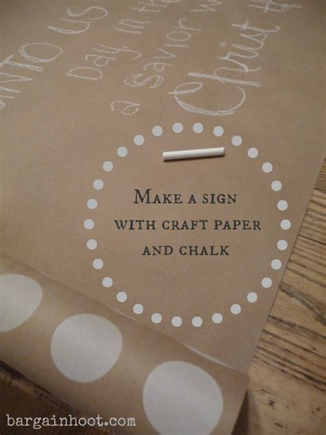 chalkboard craft paper chalk sign craft paper and chalk