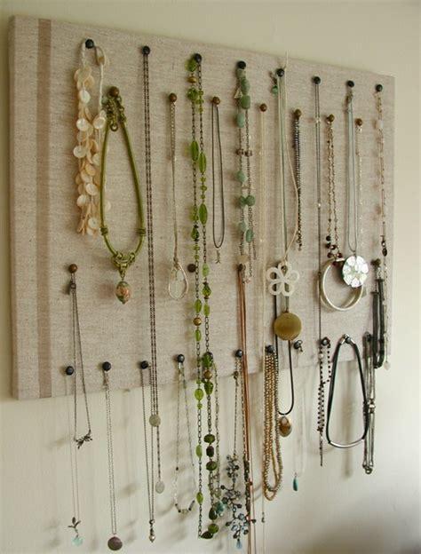 how to make jewelry hanger jewelry organizer diy