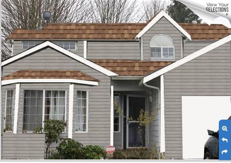 exterior paint colors house brown roof this is a exle of our grey exterior with a light