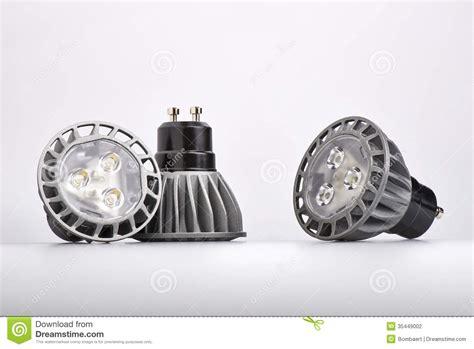 led light bulbs vs energy saving energy saving led light bulb stock photography image