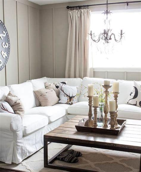 white slipcovered sofa ikea picture of white slipcovered sectional ektorp sofa