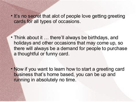 how to start a card business how to start a greeting card business for profit