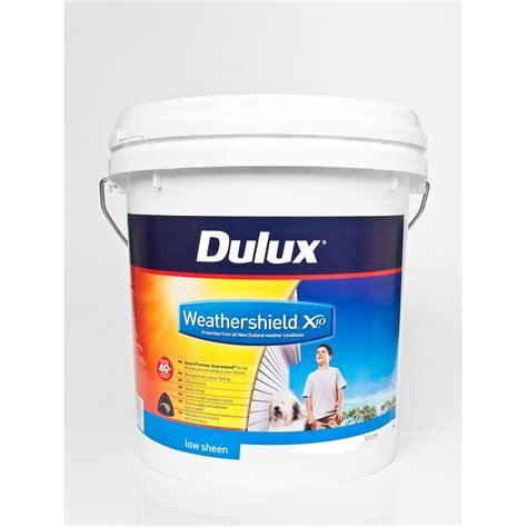 dulux chalkboard paint nz dulux weathershield x10 low sheen 10l blue base bunnings